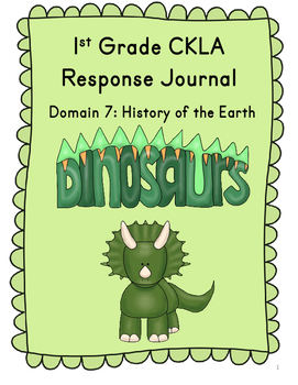CKLA Grade 1 Domain 7 Reading Response Journal