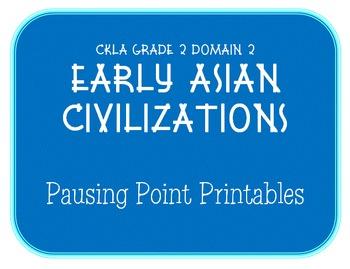 CKLA Grade 2 Domain 2 Early Asian Civilization Pausing Poi