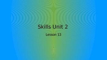 CKLA Grade 2 Skills Unit 2 Lesson 13 PowerPoint