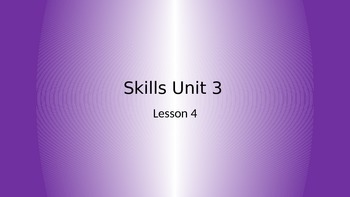 CKLA Grade 2 Skills Unit 3 Lesson 4 PowerPoint
