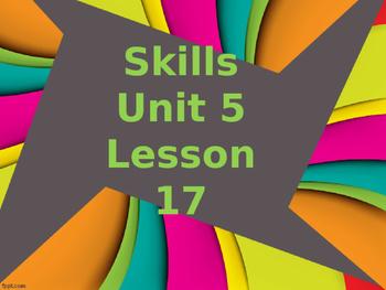 CKLA Grade 2 Skills Unit 5 Lesson 17 PowerPoint