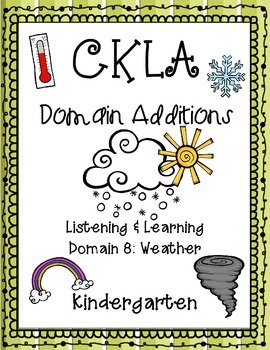 CKLA Kindergarten Listening and Learning Domain 8 Addition