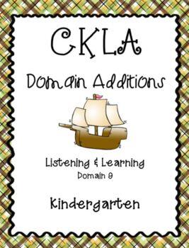 CKLA Kindergarten Listening and Learning Domain 9 Columbus