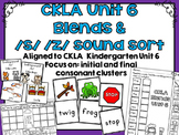 CKLA Kindergarten Skills Unit 6 Blends Activity