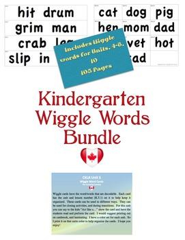 CKLA Kindergarten Wiggle Words BUNDLE