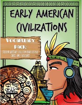 CKLA The Maya, Aztec, and Inca, Vocabulary Packet, Grade 1