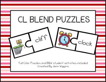 CL Blend Puzzles ~ 17 Puzzles Plus Follow Up Activities