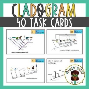 CLADOGRAM TASK CARDS
