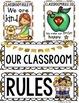 CLASS DECOR: CLASSROOM RULES
