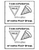 CLASSIFY CATEGORIZE shapes