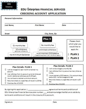 CLASSROOM BANKING: Bank Application, Excel Banking, and Ch