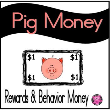 PIG THEME SET of REWARDS and BEHAVIOR  to PROMOTE CHARACTE