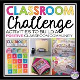 BACK TO SCHOOL ACTIVITIES: CLASSROOM CHALLENGE ACTIVITIES