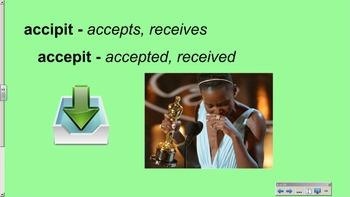 CLC Stage 2 - Vocabulary Slideshow