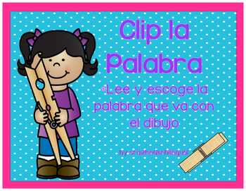 CLIP la PALABRA de 2 sílabas