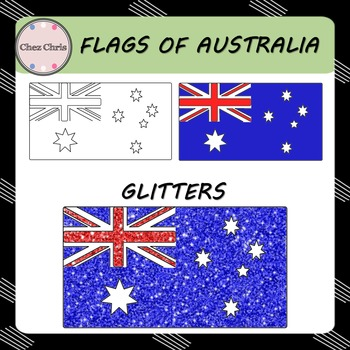 CLIPART: Flags of Australia {FREE}