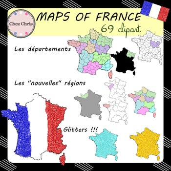 CLIPART: Maps of France
