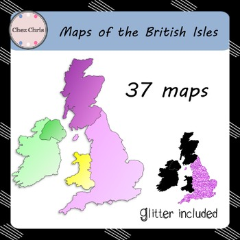 CLIPART : Maps of the British Isles
