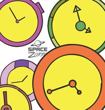 CLOCKS 8 colorful images
