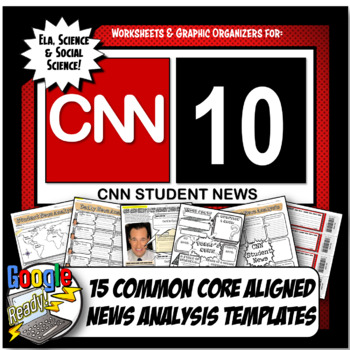 CNN Student News Current Event Analysis, CNN 10 Common Cor