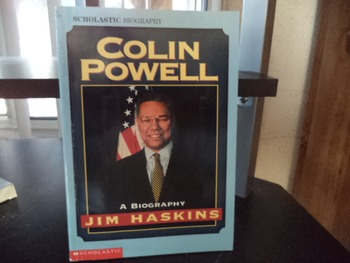 COLIN POWELL       A BIOGRAPHY     ISBN 0-590-89815-9