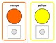 COLOR Match Adapted Velcro BOOK, Speech Therapy, Autism, E