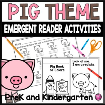 COLOR WORDS INTERACTIVE COLORING BOOK for EMERGING READERS