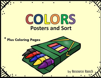 COLORS Free Posters and Sort
