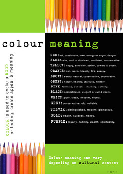 COLOUR MEANING