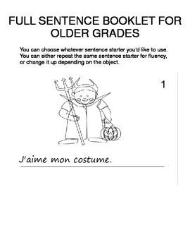 Halloween FOREIGN LANGUAGE Workbooks & Games pack Spanish,