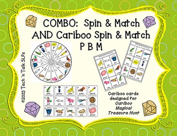COMBO Spin & Match and Cariboo Spin & Match for Articulati