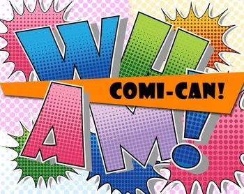 COMI-CAN! 5 Comic Book  Alphabets - 43 - 300 DPI - PDF & P