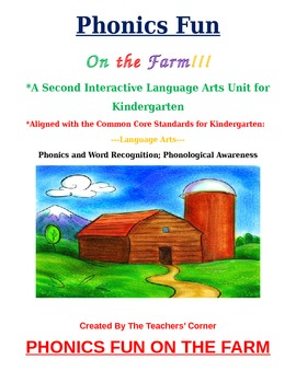 Common Core Language Arts--Unit 2: Kindergarten Phonics &