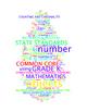 COMMON CORE MATHEMATICS - GRADE K - 6 WORDLE POSTERS - WHI