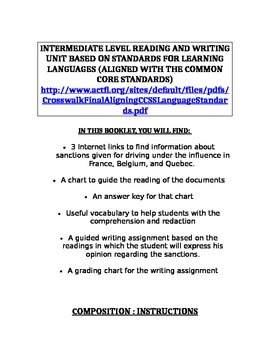 WRITING , text of opinion/read to write activity