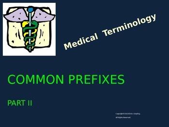 COMMON PREFIXES - Part II