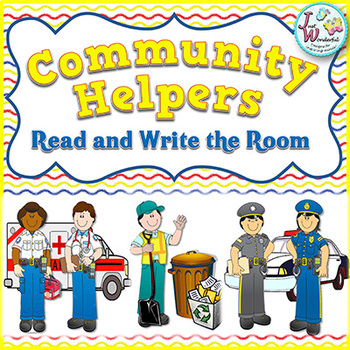 COMMUNITY HELPERS! - Read and Write the Room