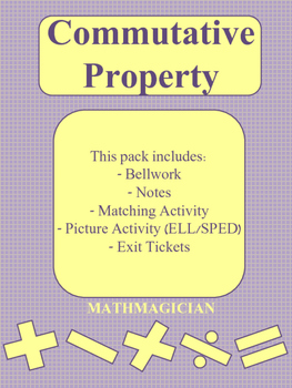 COMMUTATIVE PROPERTY BUNDLE