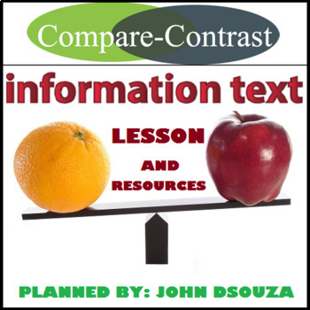 COMPARE & CONTRAST - INFORMATION TEXT