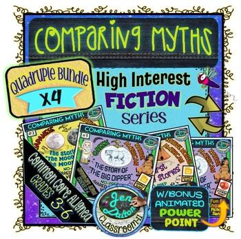 COMPARING MYTHS ACROSS CULTURES DOUBLE BUNDLE!