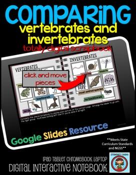 COMPARING Vertebrates and Invertebrates: DIGITAL Google Dr