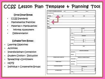 COMPASS  4th Grade Grammar & Writing Lesson Plan Template