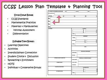 COMPASS  4th Grade Reading Lesson Plan Template