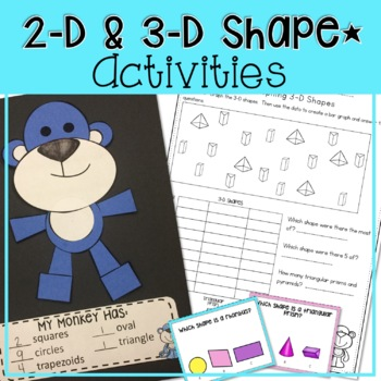 COMPLETE 1 WEEK UNIT ON 2-D SHAPES FOR LOWER ELEMENTARY  M