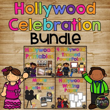 {COMPLETE} Hollywood Celebration Set, Powerpoint, Printabl