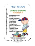 1st Grade LITERACY STATIONS: Rotation 2 of 5