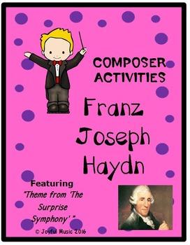 COMPOSER ACTIVITIES Franz Joseph Haydn