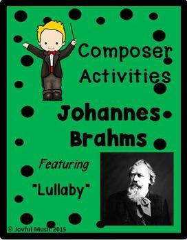COMPOSER ACTIVITIES  Johannes Brahms