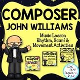 Composer John Williams Music Class Lesson Bundle: Scarf an