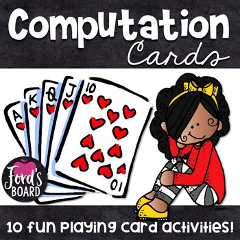 Math Card Games and Activities